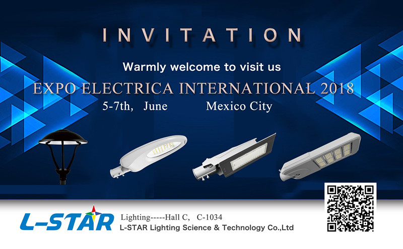 the invitation of Mexico Lighting Fair